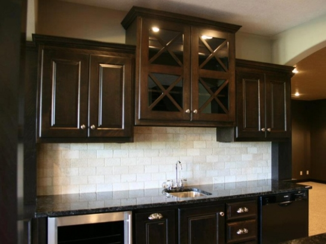 Luxury Custom Build Wet Bar