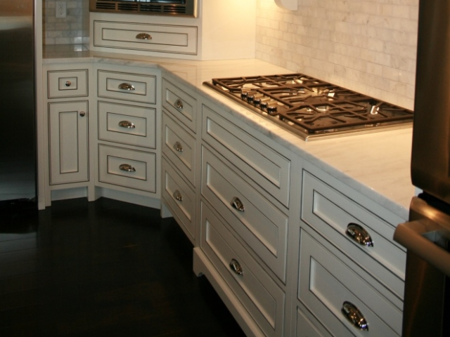 Stove Top and Cabinetry