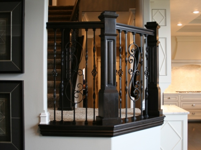 Custom Stair Rail