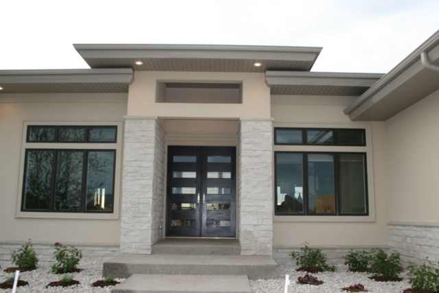 Luxury Modern Front Entrance