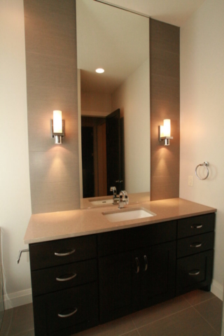 Custom Built Mirror in Bath